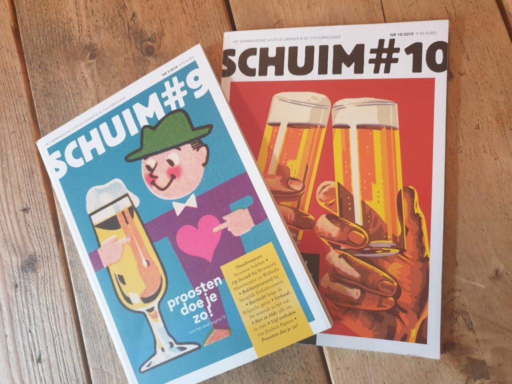 Gedichten over bier komen in speciaalbier magazine Schuim.