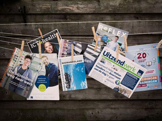 Teksten laten schrijven voor een boek, magazine of brochure? Welkom in de Tekstwerkplaats!