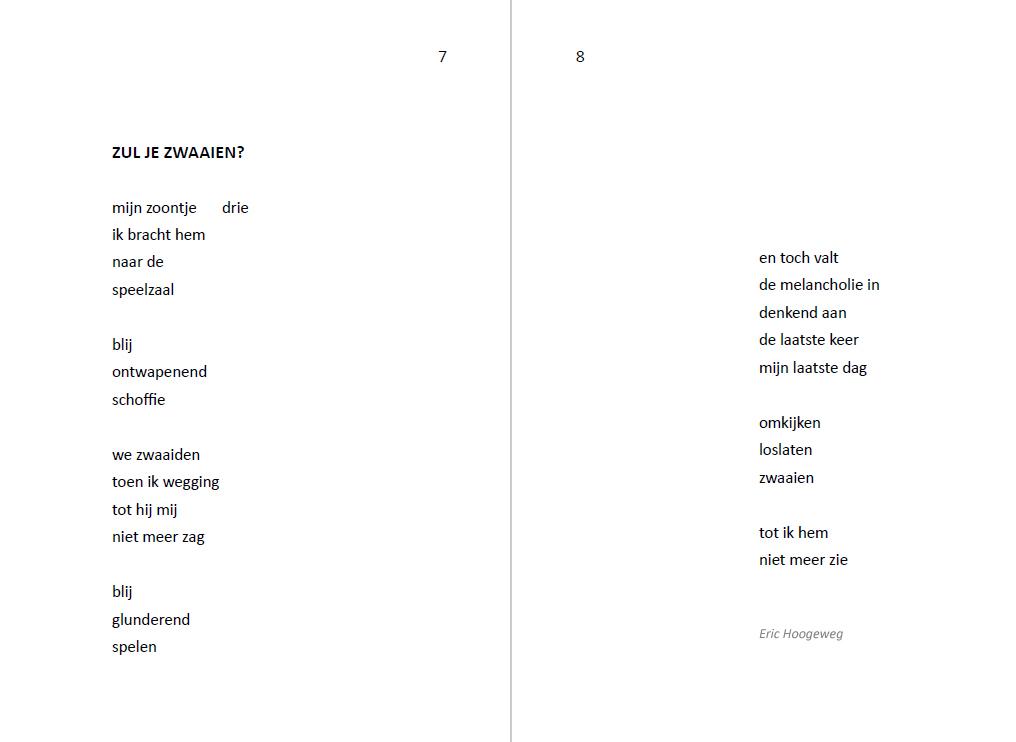 Vaderdag Cadeau Tip Boek Met Moderne Gedichten Voor Vader
