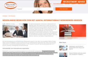 Tekstschrijver arbeidsmarkt: groei buitenlandse werknemers hard nodig