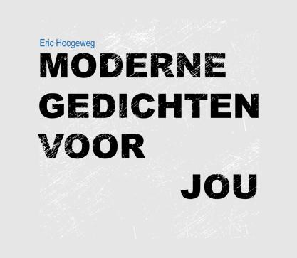 Cover 'Moderne gedichten voor jou', een origineel geschenk voor klanten of personeel.