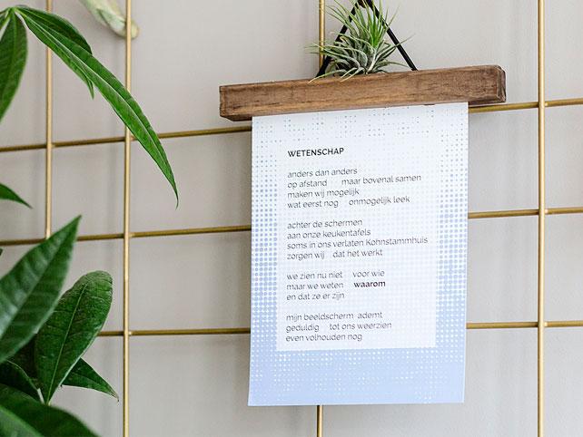 Een modern gedicht laten maken wordt steeds populairder bij bedrijven en organisaties.
