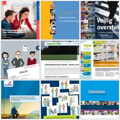 Bekijk voorbeelden met teksten over Innovatie en ICT in het portfolio.
